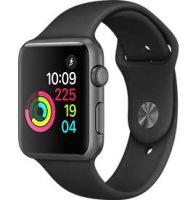 Reconditionne Montre Apple Watch ( Serie 2), Boitier En Aluminium Gris Espace De 42 Mm, Excellente Etat