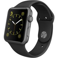 Reconditionné Apple Watch (1st Generation) 42mm Gris Sidéral Excellente Condition