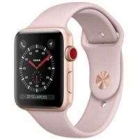 Reconditionné Apple Watch Series 3 GPS & Cellular Aluminium Case 42mm Or Rose Excellente  Condition